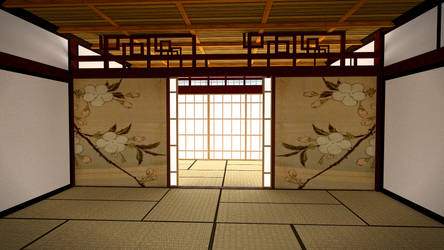 Traditional Japanese Housing - Unfurnished by sheldiner