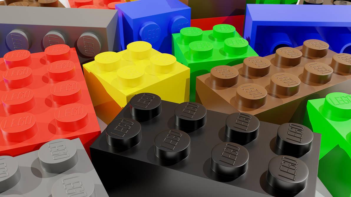 Lego Bricks - Blender 3D by sheldiner