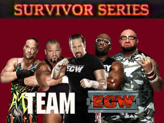 Team ECW by ThePeoplesLima