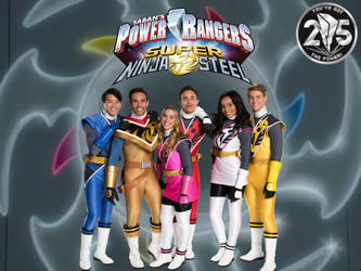Power Rangers Super Ninja Steel 25th Anniversary by ThePeoplesLima