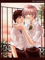 NGE Kaworu and Shinji ...again by hyatt-ayanami