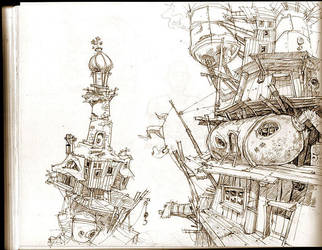 pirate hideout by Jastorama