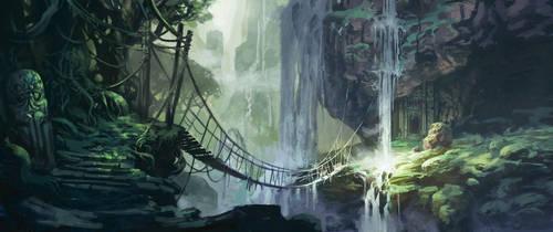 jungle bridge by Jastorama