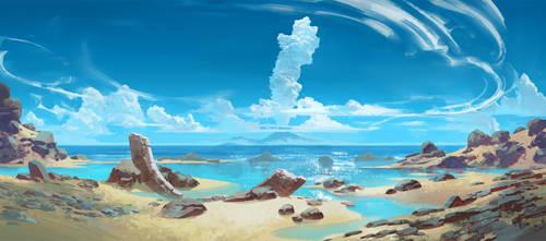 beachy blast by Jastorama