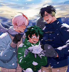 BNHA Secret Santa 2K17 by Josukespimphand
