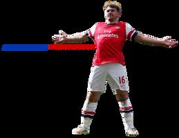 Arenal FC Player Aaron Ramsey Render by eaglelegend