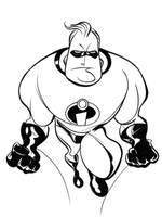 Mr. Incredible by dfridolfs
