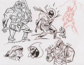 He-Man doodles 1 by dfridolfs