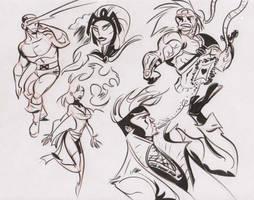 Marvel doodles 3 by dfridolfs