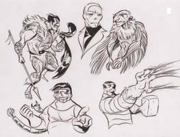 Marvel doodles 4 by dfridolfs