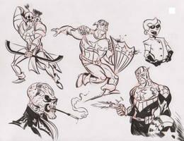 Marvel doodles 5 by dfridolfs