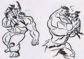 Wolverine yum yums by dfridolfs