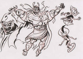Thundercats doodles 5 by dfridolfs