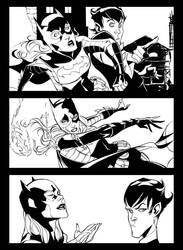 Batgirl 18 preview by dfridolfs