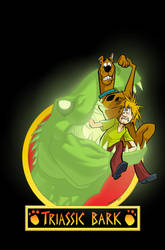 Scooby-Doo Triassic Bark Cover by dfridolfs