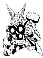 Thor by dfridolfs