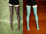 Sparkle Stockings by kawaiimon