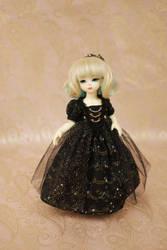 Black Star Ballgown by kawaiimon