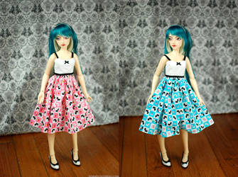 Scotty Dog Dresses by kawaiimon