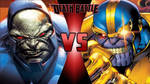 Darkseid vs. Thanos by OmnicidalClown1992