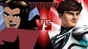 Rex Salazar vs. Max Steel by OmnicidalClown1992
