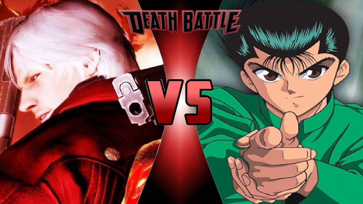Dante vs. Yusuke Urameshi by OmnicidalClown1992