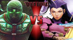 Ermac vs. Rose by OmnicidalClown1992