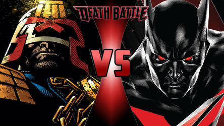 Judge Dredd vs. Batman Beyond by OmnicidalClown1992