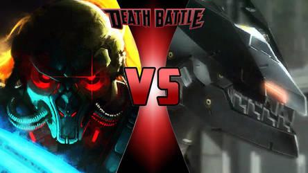 Fulgore vs. Blade Wolf by OmnicidalClown1992