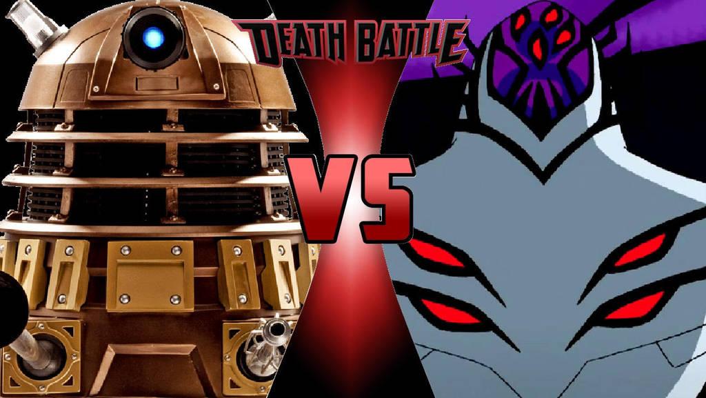 Dalek vs. Highbreed by OmnicidalClown1992