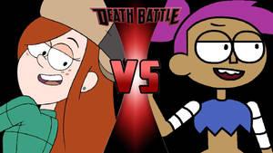 Wendy vs. Enid by OmnicidalClown1992