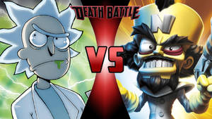 Rick Sanchez vs. Neo Cortex by OmnicidalClown1992
