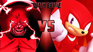 Juggernaut vs. Knuckles the Echidna by OmnicidalClown1992