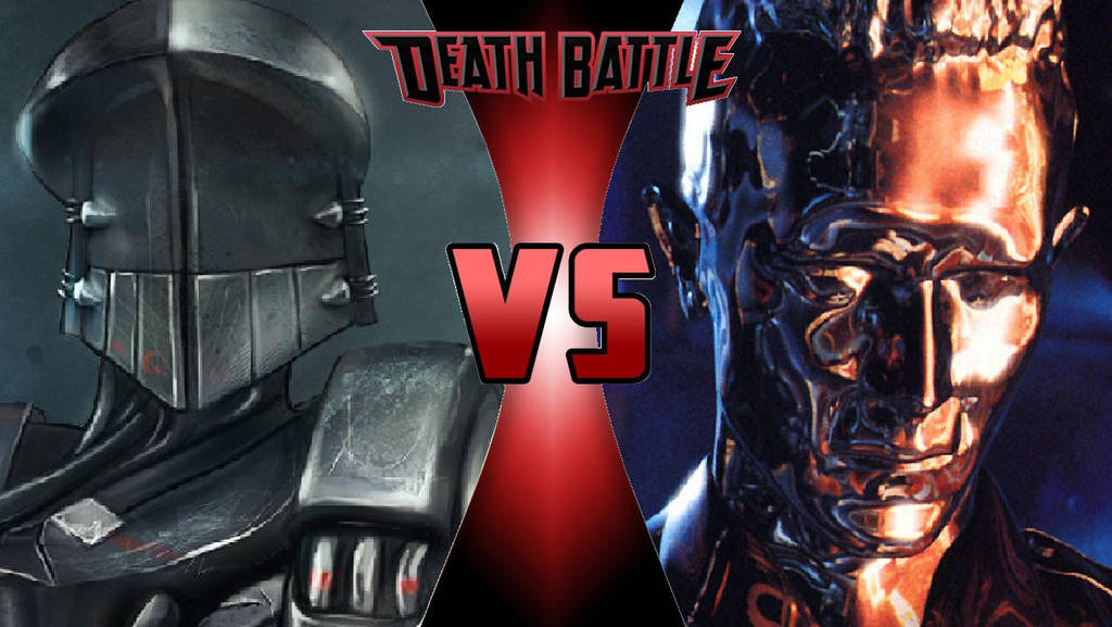 RoboCop 2 vs. T-1000 by OmnicidalClown1992