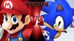 Mario vs. Sonic the Hedgehog 2 by OmnicidalClown1992
