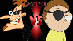 Evil Doofenshmirtz vs. Evil Morty by OmnicidalClown1992