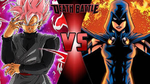 Goku Black vs. Raven by OmnicidalClown1992