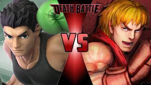 Little Mac vs. Ken Masters by OmnicidalClown1992