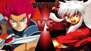 Lion-O vs. Inuyasha by OmnicidalClown1992