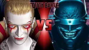 Kefka Palazzo vs. Batman Who Laughs by OmnicidalClown1992