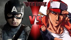Captain America vs. Terry Bogard by OmnicidalClown1992