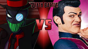 Black Hat vs. Robbie Rotten by OmnicidalClown1992