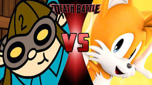 Numbuh 2 vs. Tails the Fox by OmnicidalClown1992