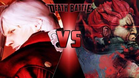 Dante vs. Akuma by OmnicidalClown1992