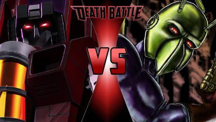 Starscream vs. Killer Moth by OmnicidalClown1992