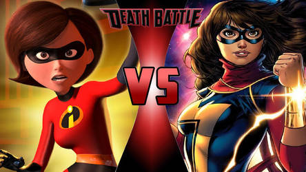 Elastigirl vs. Miss Marvel by OmnicidalClown1992