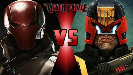 Red Hood vs. Judge Dredd by OmnicidalClown1992
