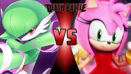 Gardevoir vs. Amy Rose by OmnicidalClown1992