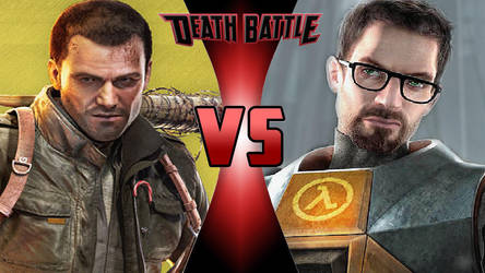 Frank West vs. Gordon Freeman by OmnicidalClown1992