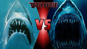Jaws vs. Megalodon by OmnicidalClown1992